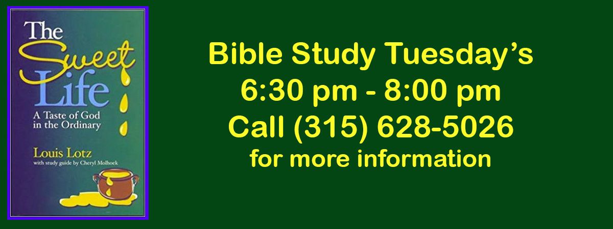 Bible Study Tuesdays